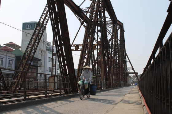 Long Biên Bridge Hanoi