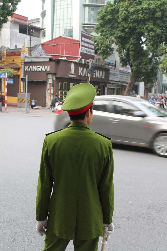 Traffic Control Hanoi